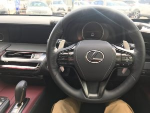 lexus lc500h steering wheel