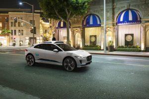 jaguar I-pace suv waymo test