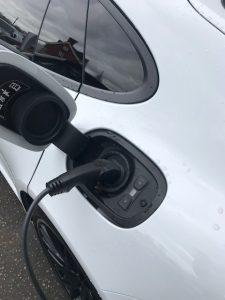 panamera phev charge socket