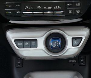 Prius PHEV driving mode