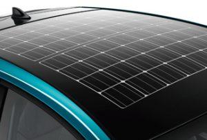 Prius PHEV solar roof