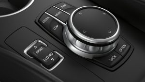 BMW i3s sport mode button