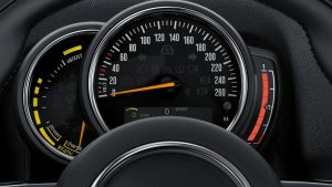 mini countryman driver instruments