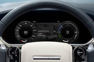 Range rover phev driver instruments