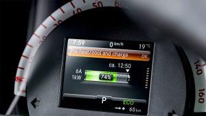 smart eq forfour driver instruments