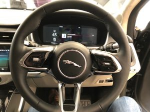 jaguar ipace steering wheel