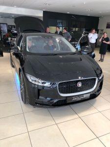 jaguar ipace front
