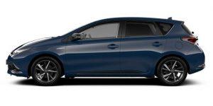 Toyota Auris Hybrid colour