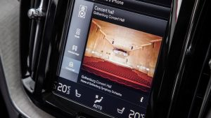 centre screen volvo xc60 T8