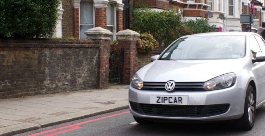 zipcar e-golf london
