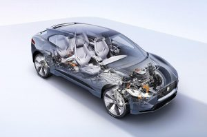 Jaguar I-Pace Battery Technology