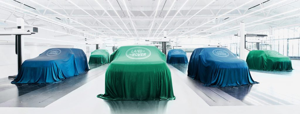 Jaguar Land Rover and Ford announced all electric production by 2030